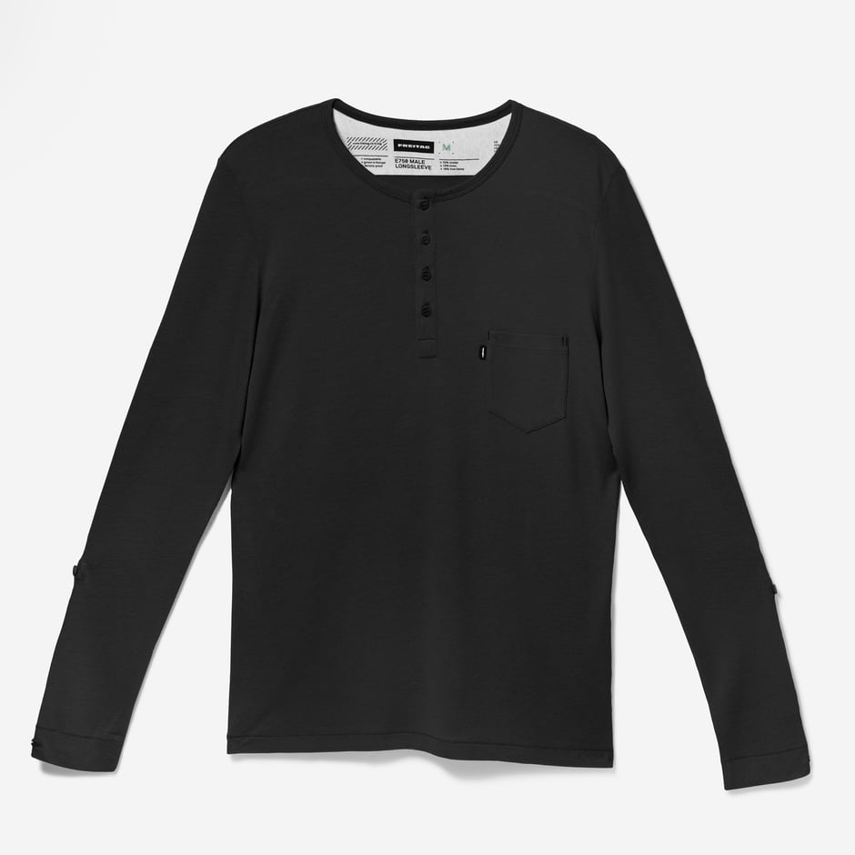 E750 Longsleeve Male Black