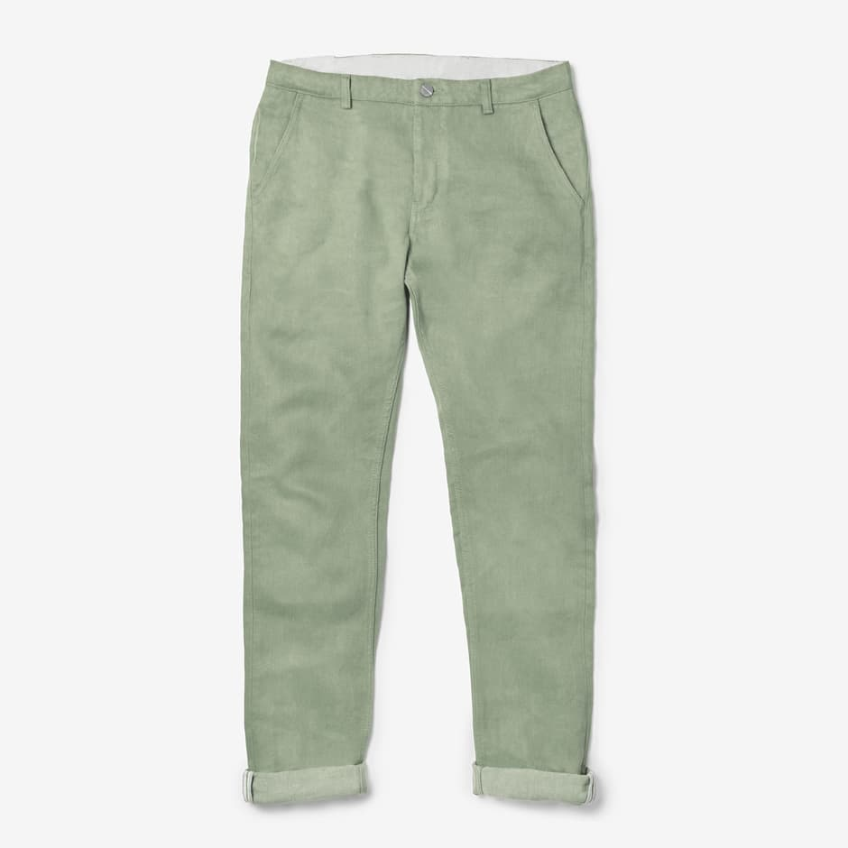 E550 Workpant Industrial Green