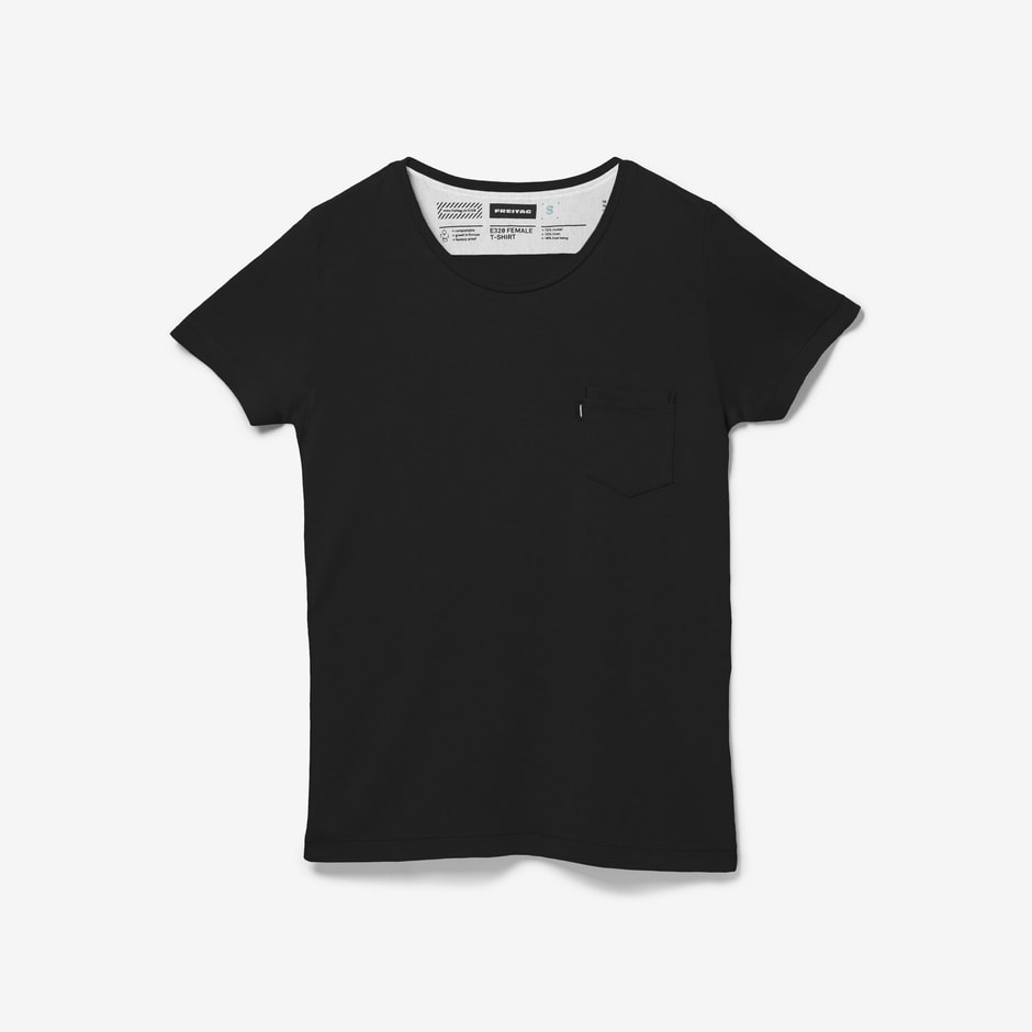 E320 T-Shirt Female Black