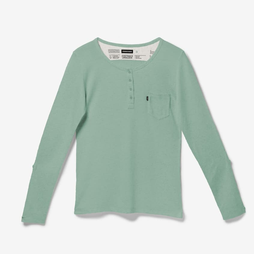 E350 Longsleeve Female Industrial Green