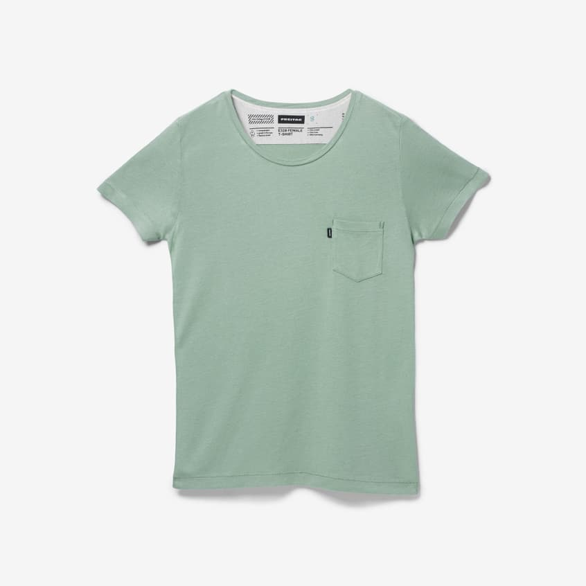 E320 T-Shirt Female Industrial Green