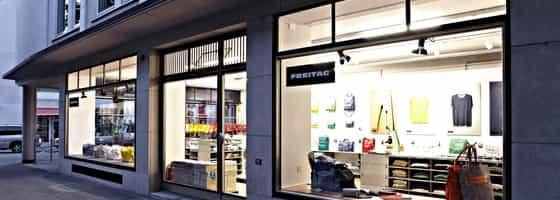 FREITAG Store an der Grüngasse in Zürich