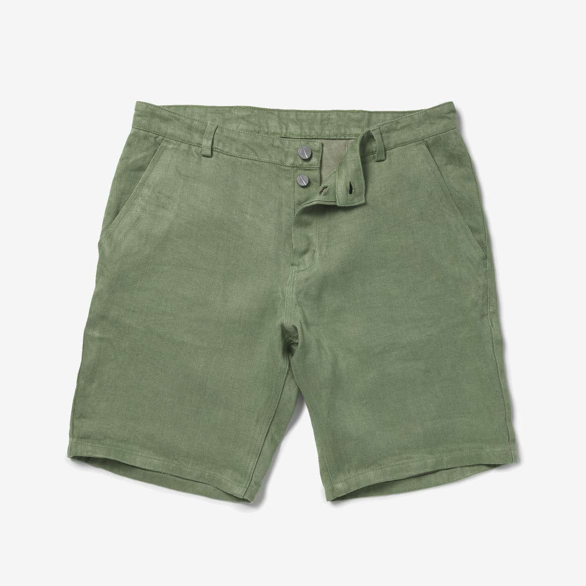 E551 MALE SHORTS, Industrial Green
