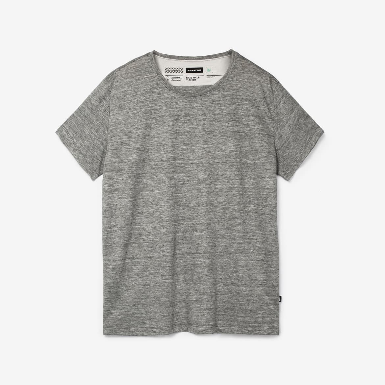 E731 MALE T-SHIRT, Grey Heather