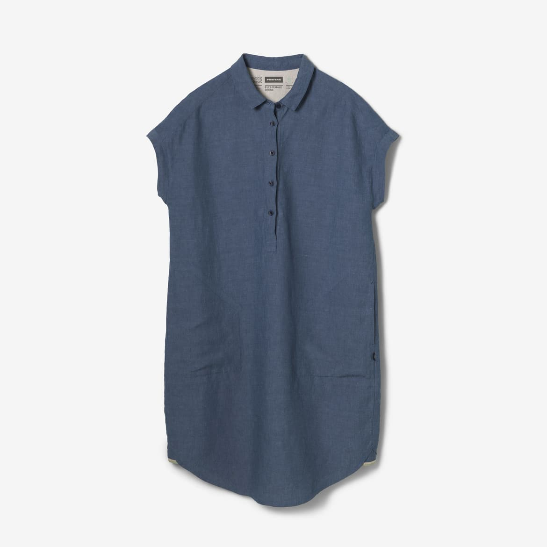 E172 FEMALE DRESS, Stellar Blue