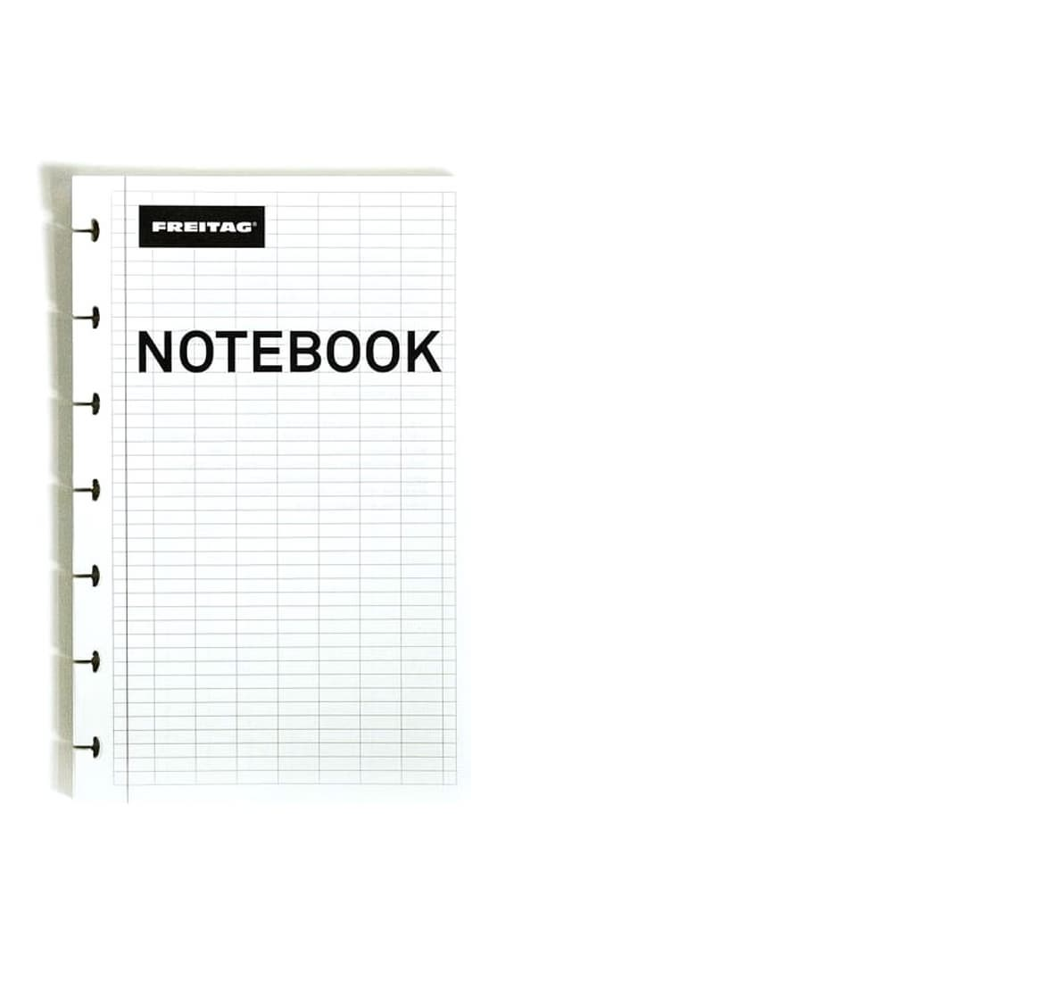 F27 NOTEBOOK Refill sheets for Freitag Notebook, ATOMA hole-punched
