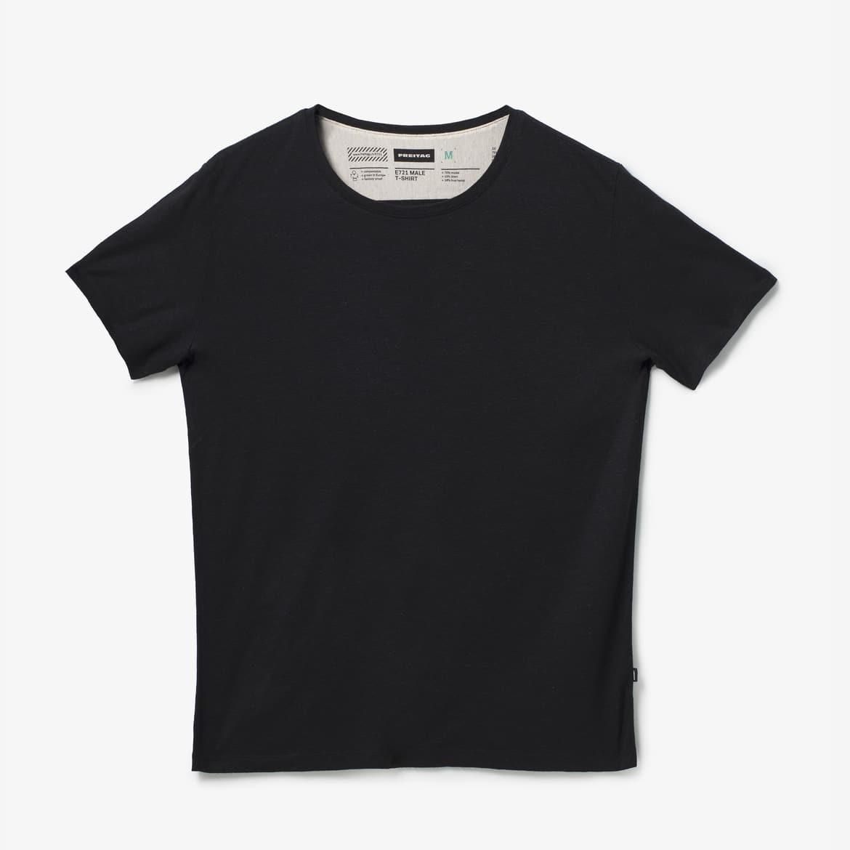 E721 MALE T-SHIRT, Black
